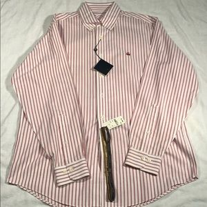 NWT. Brooks Brothers Cool Non Iron Oxford
